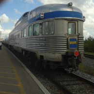'The Ocean', a.k.a. the overnight train from Montreal to Halifax.